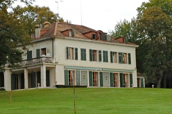 Villa à Vandoeuvres